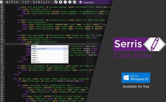[Changelog] Serris Code Editor BETA1.6